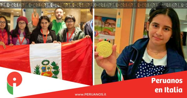 Peruana triunfa en Olimpiada Mundial de Matemáticas en Florencia - Peruanos en Italia