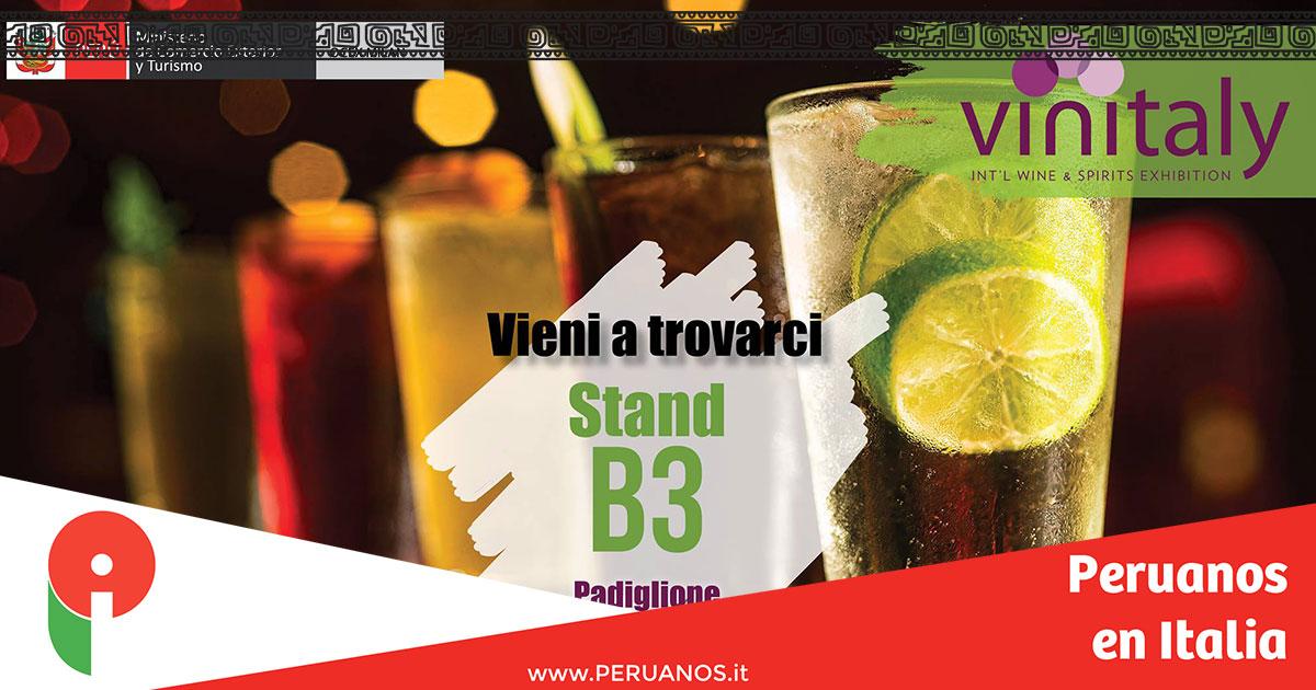 Verona, Perú presente en Vinitaly 2018 - Peruanos en Italia