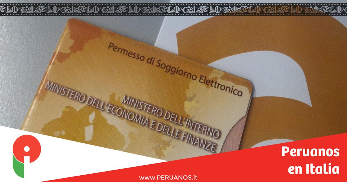 Conversatorio sobre permiso de estadía - Peruanos en Italia